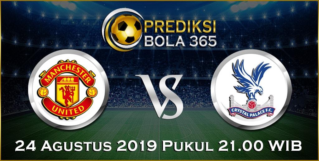 Prediksi Skor Bola Manchester United vs Crystal Palace 24 Agustus 2019