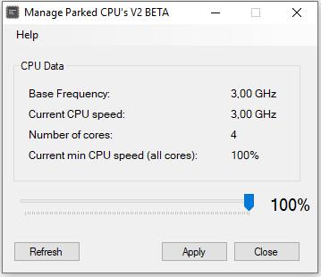 Manage Parked CPU´s V2 Beta Download Grátis