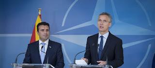 Η Ελλάδα αναγνωρίζει τα Σκόπια ως «Βόρεια Μακεδονία» στη Σύνοδο του ΝΑΤΟ - Νομικά μη αναστρέψιμη η εξέλιξη...