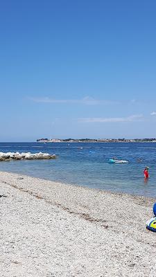 Kiesstrand in Kroatien