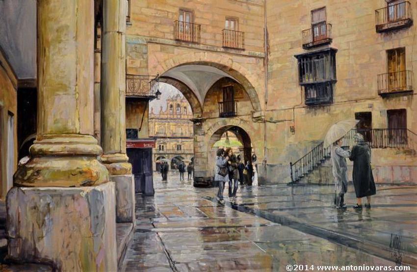 Cuadros pinturas oleos paisajes urbanos y tur sticos pinturas antonio varas de la rosa - Busco trabajo de pintor en madrid ...