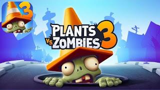 تحميل لعبة Plants vs Zombies 3 مهكرة للاندرويد