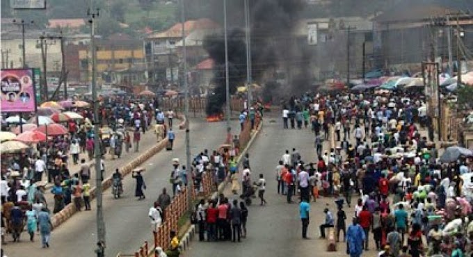 Osun Youths Stage Protest Against Arrest Of Indigenes Over Fulani's invasion