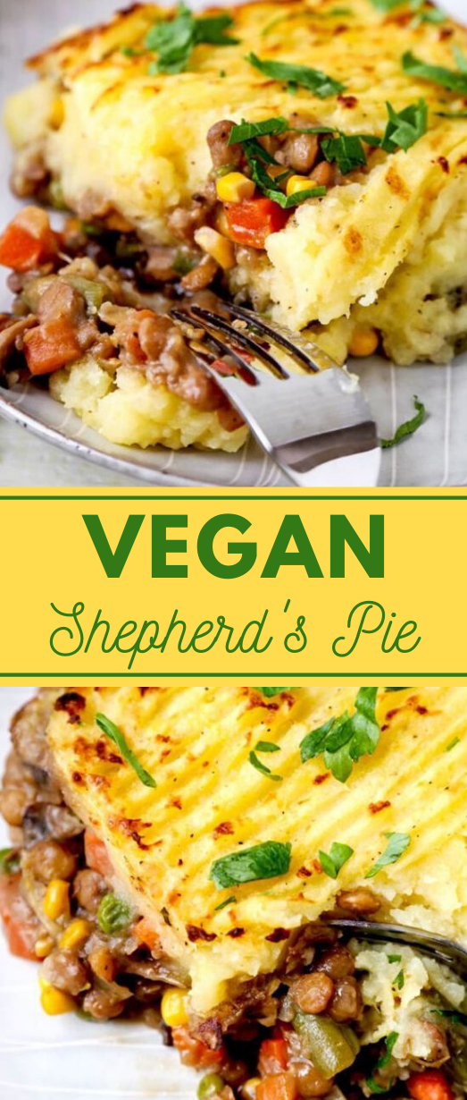 VEGAN SHEPHERD'S PIE #vegan #dinner #healthydiet #paleo #lunch