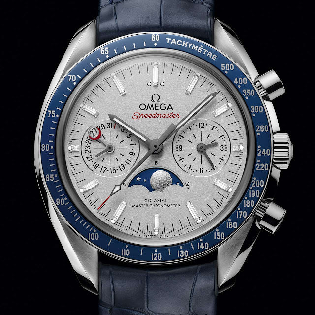 Omega Speedmaster Moonphase Chronograph Platinum-Gold