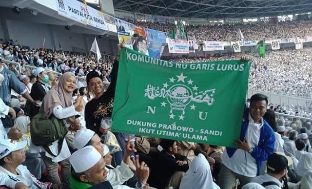 NU Garis Lurus Dukung Prabowo Sandi