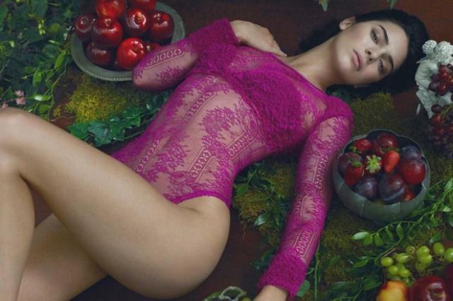 Kendall Jenner es una fantasía en lencería