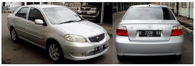 Review Spesifikasi Toyota Vios Generasi Pertama 2003 - 2004
