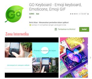 GO Keyboard - Emoji keyboard, Emoticons, Emoji GIF