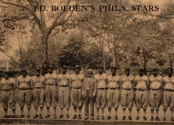 Philadelphia Stars Negro Baseball Team