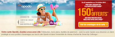 Carte de fidélité avec réduction de 150 euros/ voyage