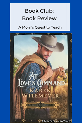 Text: Book Club: A Mom's Quest to Teach; At Love's Command book cover
