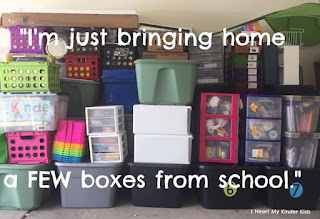 How to move classrooms with less stress. 5 easy steps teachers can take to help them with end of year classroom pack up and tidy.
