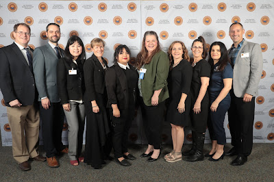 Graphic shows the All-Academic team winners and Rio salado faculty and leadership