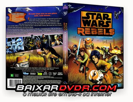 STAR WARS REBELS – 1ª TEMPORADA COMPLETA (2015) DUAL AUDIO DVD-R OFICIAL