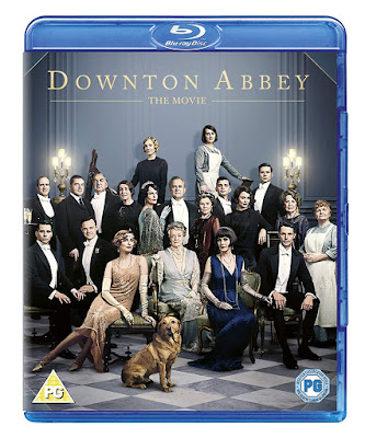 Downton Abbey The Movie Blu-ray box showing cast in costume