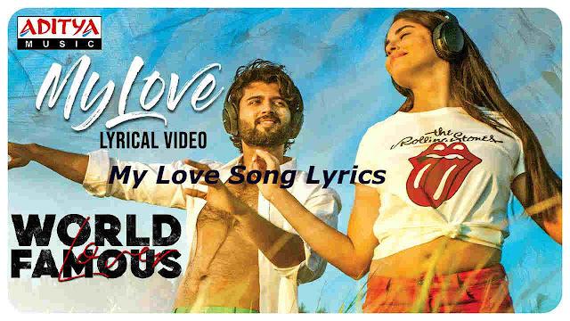 My Love Song Telugu Lyrics - Worlds Famous Lover