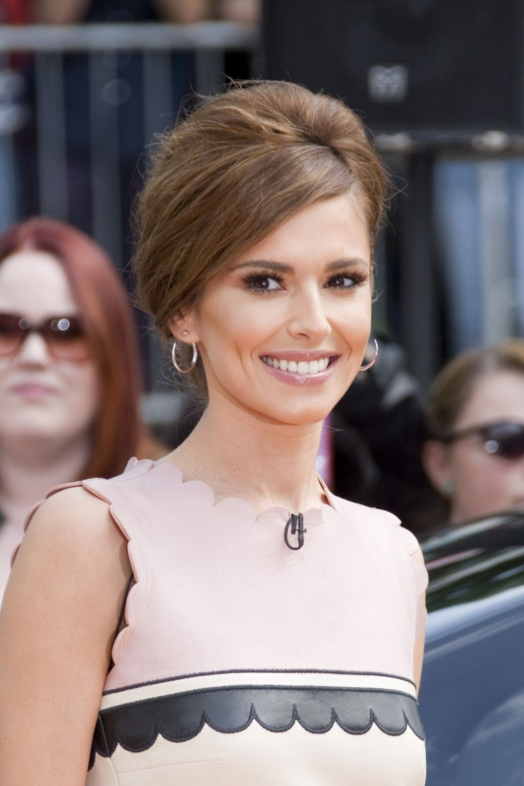 Cheryl Cole At X Factor Audition In London
