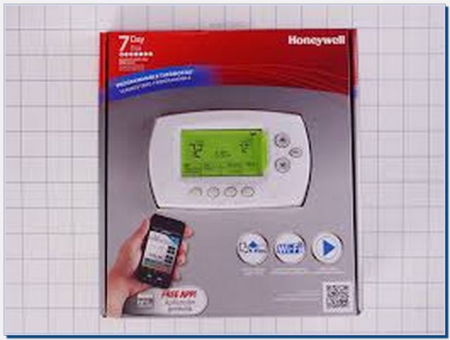 Honeywell Wifi Thermostat Remote Control