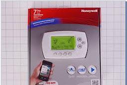 Honeywell Wifi Thermostat Remote Control