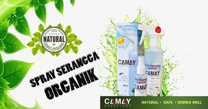 Review Spray Serangga Organik Camay
