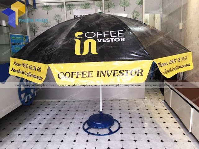 du quang cao cafe ngoai troi