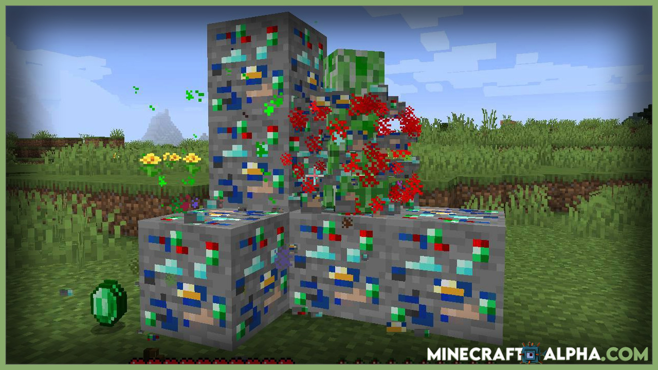 Minecraft Lucky Ores Mod 1.17.1 (What Will You Find?)