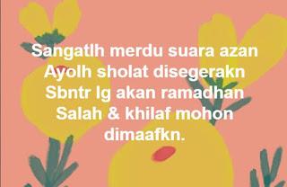 Kata-Kata dan Ucapan Bergambar Selamat Datang Bulan Ramadhan 2020