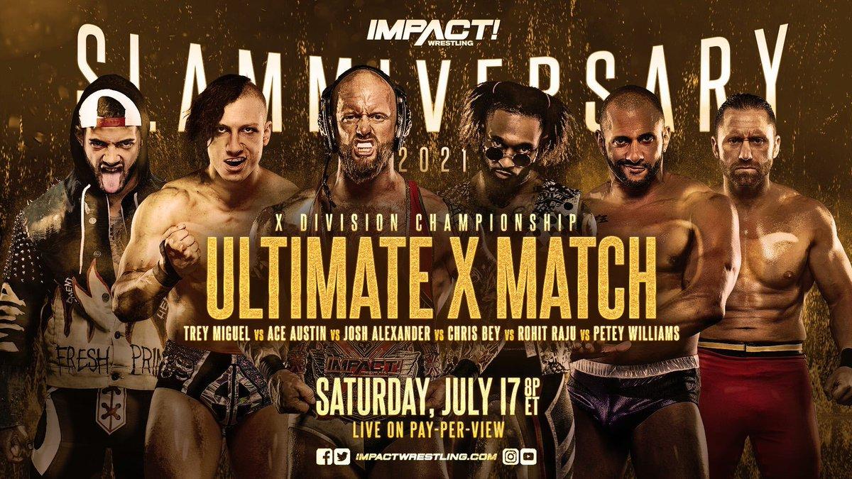 IMPACT Wrestling anuncia a volta da Ultimate X Match
