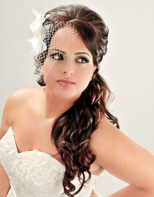 Pozytywne Inspiracje ślubne Włosy Upięte Na Bok Part 2