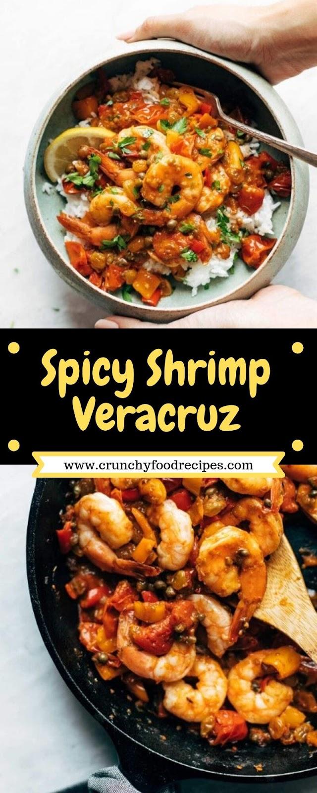 Spicy Shrimp Veracruz
