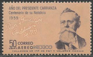 Mexico 1960 50c Pres. Venustiano Carranza