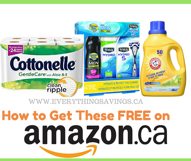 How to Get Free Laundry Detergent & Toilet Paper on Amazon