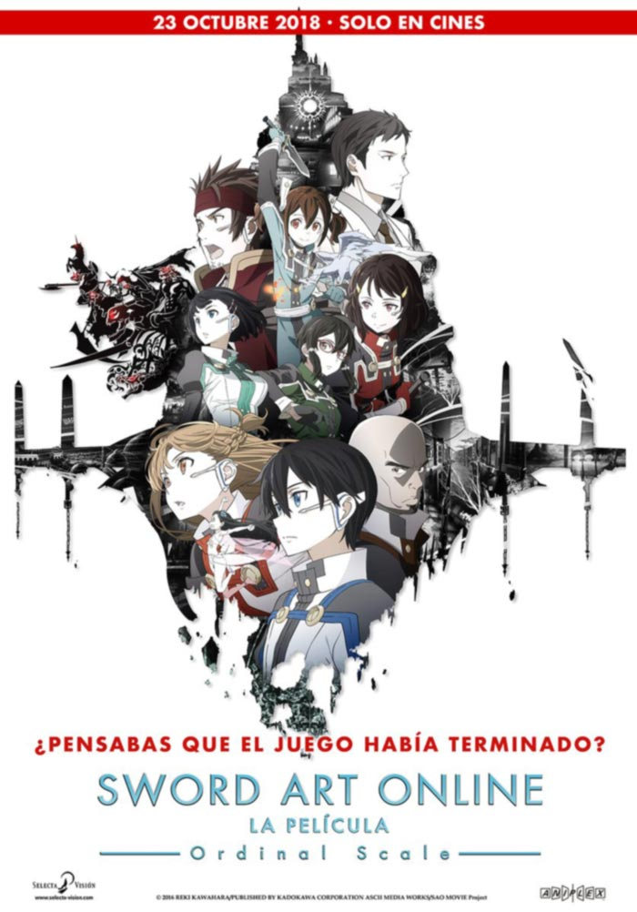 Sword Art Online: Ordinal Scale (Selecta Vision)