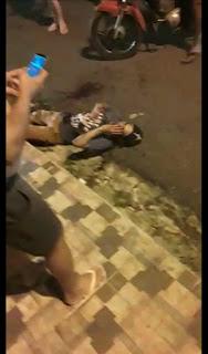 Em Guarabira PB jovem sofre tentativa de homicídio na noite do domingo