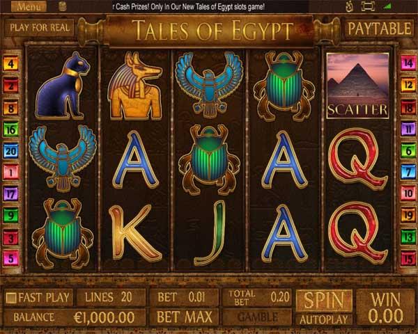 Main Gratis Slot Indonesia - Tales of Egypt (Pragmatic Play)