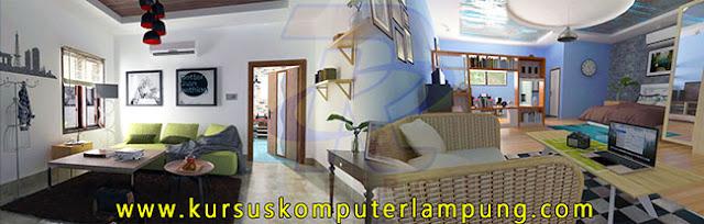 Kursus Interior Design di Lampung