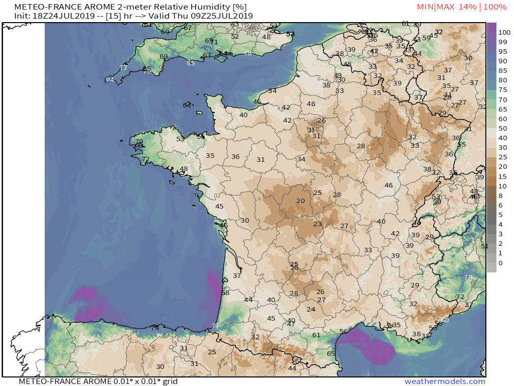 Paris Set Their All-Time Hottest Temperature This Week  Is