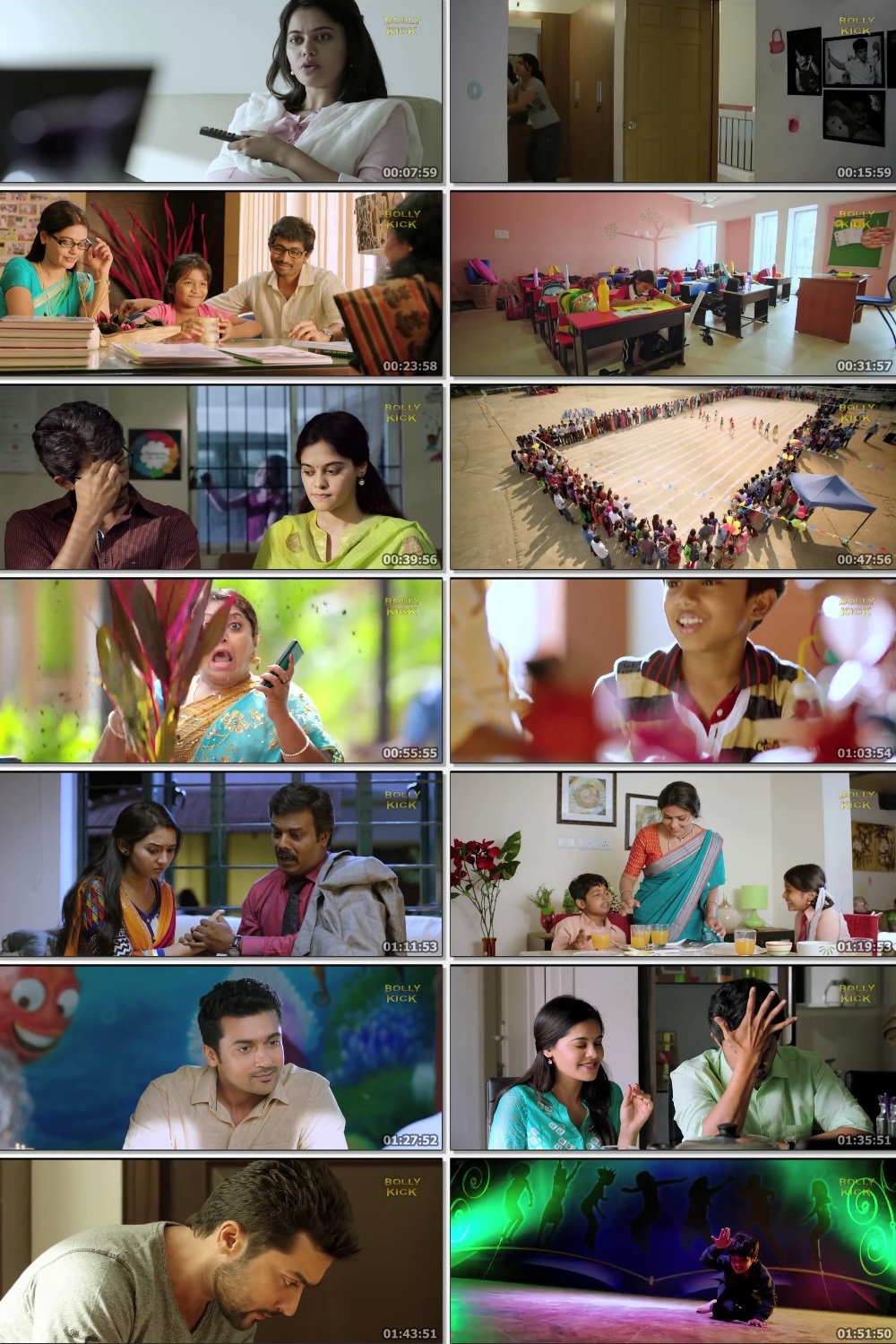 Screen Shot Of Pasanga 2 2015 300MB Full Movie Hindi Dubbed Free Download 720P HDRip HEVC