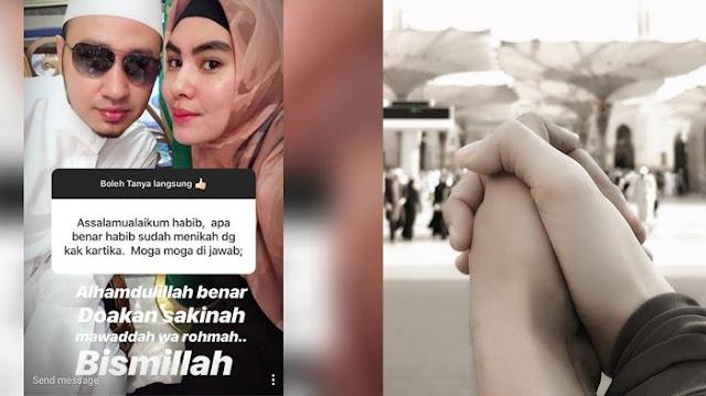 Mengenal Sosok Habib Usman bin Yahya, Suami Artis Cantik Kartika Putri