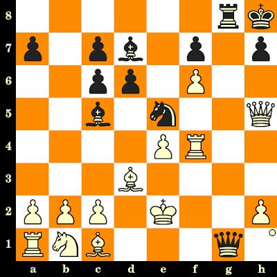 Les Blancs jouent et matent en 3 coups - Panayotis Pandavos vs AB Arnold, Salonique, 1984