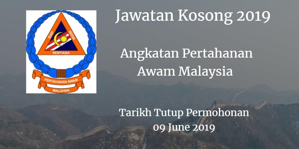 Jawatan Kosong APM 09 June 2019