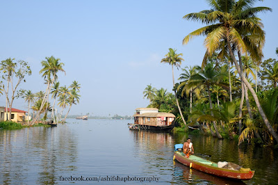 Alleppey Backwaters. Kerala