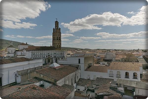 Llerena, panorámica (Badajoz)