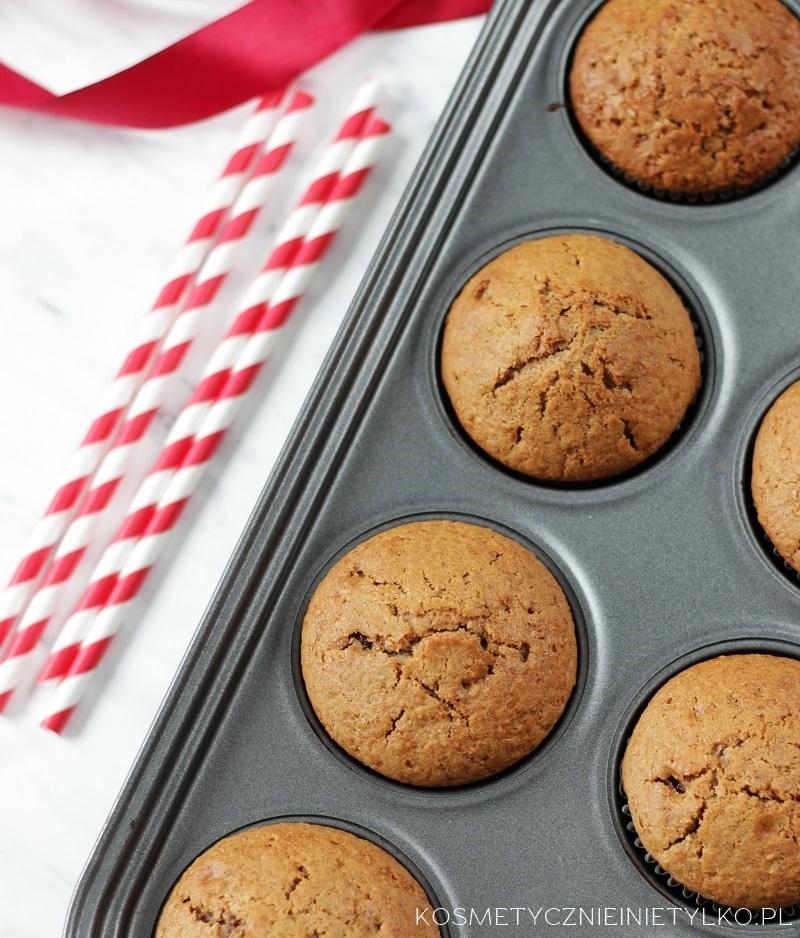przepis na muffiny piernikowe nadziwane powidłami