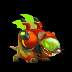 Dragon Mort-au-Rat (Jeune)