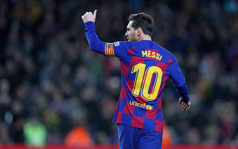 Barcelona's talisman Lionel Messi