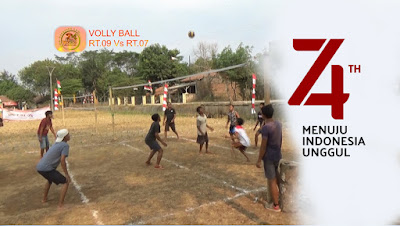 Volly Ball Putra RT.07 Vs RT.09