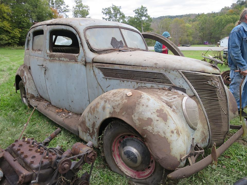 Just A Car Guy: 36 antique cars near Brookville, PA are up