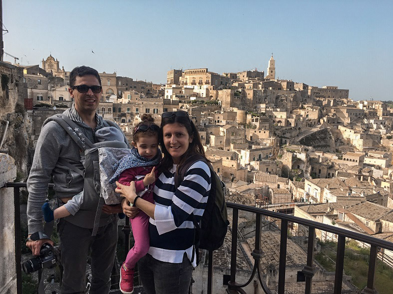 A Matera con bambini piccoli